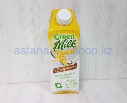 Растительный напиток соя + ваниль (без сахара, веган) — 0,75 л