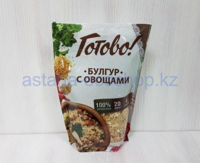 Булгур с овощами (20 минут) — 250 г (4 порции)