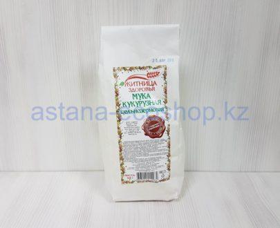 Мука кукурузная цельнозерновая — 500 г