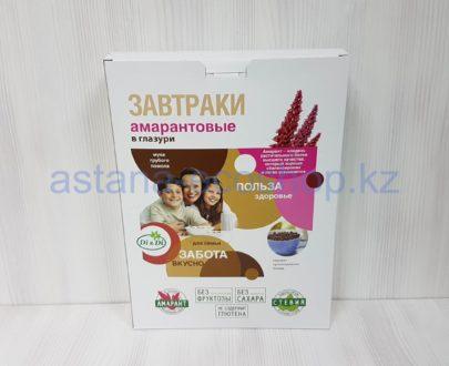 Завтрак амарантовый в шоколадной глазури (без сахара, без глютена) — 250 г