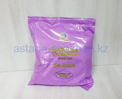 Конфета халвичная 'Кунжутная', без сахара (кунжут, патока, фруктоза, солодковый корень) — 200 г