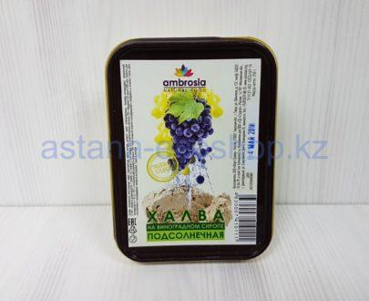 Халва подсолнечная на виноградном сиропе (без сахара) — 250 г