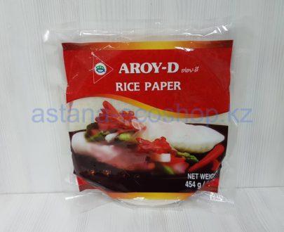 Рисовая бумага (рисовая мука, вода, соль) — 454 г (50 листов по 22 см)