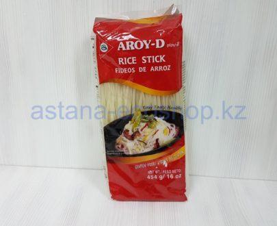 Рисовая лапша (рисовая мука, вода) — 454 г (толщина 3 мм)