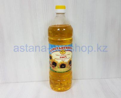 Подсолнечное нерафинированное масло — 1 л