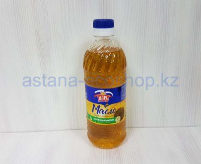 Подсолнечное масло 'Царь' (первый холодный отжим, нерафинированное) — 0,5 л