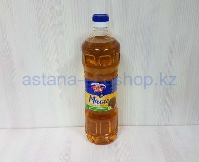 Подсолнечное масло 'Царь' (первый холодный отжим, нерафинированное) — 1 л