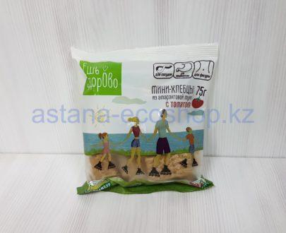 Мини хлебцы (чипсы) из амарантовой муки с томатом и топинамбуром (без глютена) — 75 г