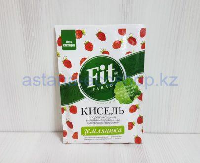 Кисель плодово-ягодный, быстрорастворимый, 'Земляника' (без сахара) — 30 г