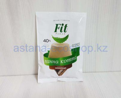 Панна котта (десерт из сливок, сахара, желатина и ванили) со вкусом шоколада — 50 г
