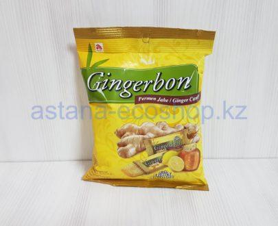 Конфеты имбирные, высокогорье Индонезии (с медом и лимоном), тростниковый сахар — 125 г