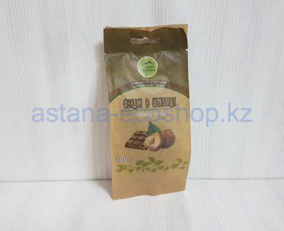 Фундук в шоколаде цельный сырой (тростниковый сахар) — 100 г