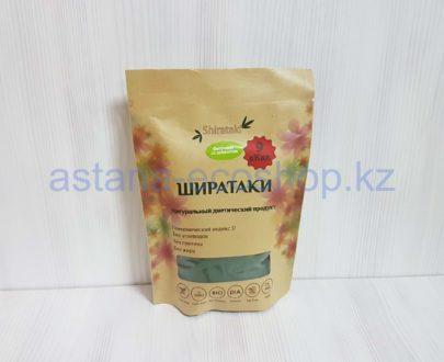 Ширатаки 'Фетучини со шпинатом' из растения 'коньяку' (без глютена, веган) — 200 г