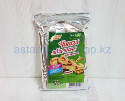 Хлебцы (чипсы) яблочные с медом и корицей 'Фитнес' (без сахара) — 25 г