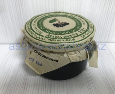 Мармелад из черноплодной рябины 'Сибирский десерт' (рябина, вода, сахар, агар-агар) — 250 г