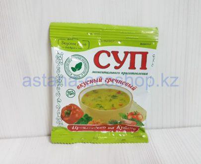 Суп моментального приготовления, гречневый (веган) — 28 г