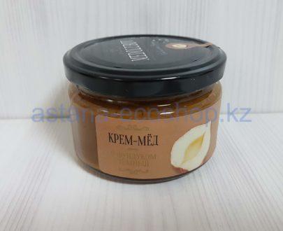 Крем-мед 'Medolubov' с фундуком темный — 260 г