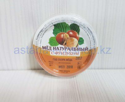Мед натуральный (с фундуком) — 50 г