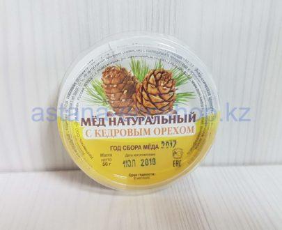 Мед натуральный (с кедровым орехом) — 50 г