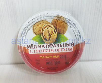 Мед натуральный (с грецким орехом) — 50 г