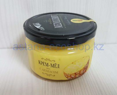Крем-мед 'Medolubov' с ананасом — 260 г
