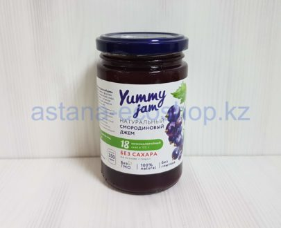 Натуральный смородиновый джем (без глютена, без сахара, на основе стевии) — 350 г