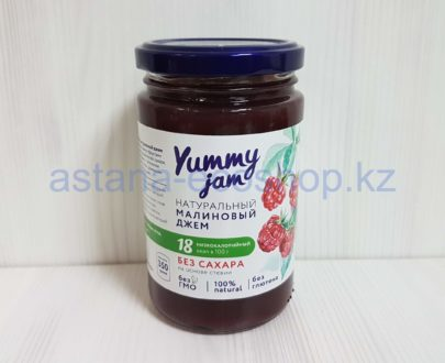 Натуральный малиновый джем (без глютена, без сахара, на основе стевии) — 350 г