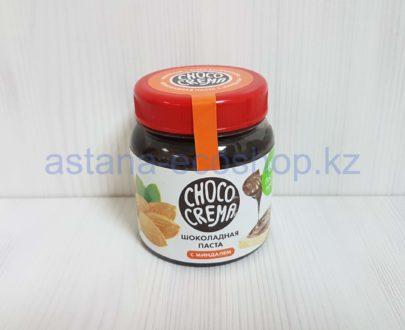 Шоколадная паста с миндалем (тростниковый сахар, без лактозы) — 200 г
