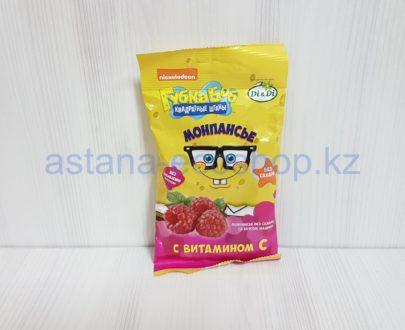 Монпансье со вкусом малины с витамином С (без сахара) — 55 г