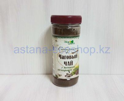 Чаговый чай 'Сибирский' с вытяжкой из кедрового ореха (без кофеина) — 90 г
