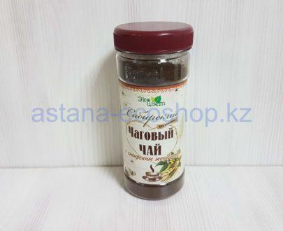 Чаговый чай 'Сибирский' с сибирским женьшенем (без кофеина) — 90 г