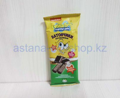 Батончики амарантовые с шоколадной начинкой в глазури (без сахара, без глютена) — 20 г