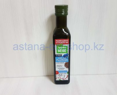 Масло льняное (холодный отжим, нерафинированное) — 250 мл