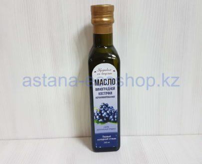 Масло 'Виноградной косточки', нерафинированное (первый холодный отжим) — 250 мл