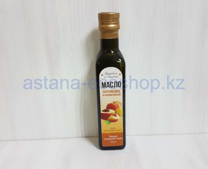 Масло 'Персиковое', нерафинированное (первый холодный отжим) — 250 мл