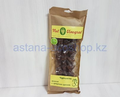 Чурчхела, вишня с грецким орехом — 240 г (3 шт)