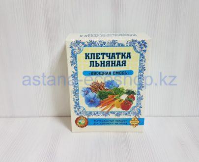 Клетчатка льняная 'Овощная смесь' (морковь, пастернак, лук, петрушка, паприка, укроп) — 300 г