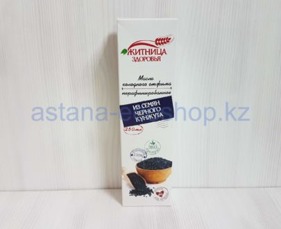 Масло из семян черного кунжута, нерафинированное (холодный отжим) — 250 мл