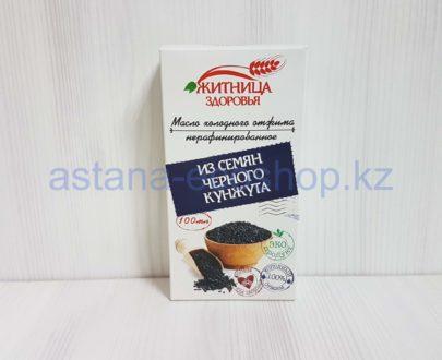 Масло из семян черного кунжута, нерафинированное (холодный отжим) — 100 мл