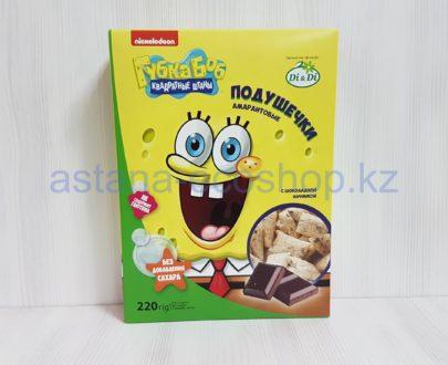 Подушечки амарантовые с шоколадной начинкой (без сахара, без глютена) — 220 г