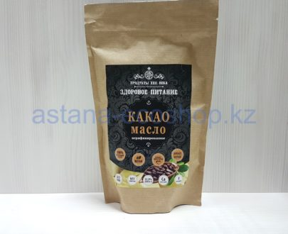 Какао масло (без глютена, веган) — 400 г