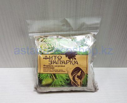 Фитозапарка для бани женская 'Формула здоровья' (пихта, марьин корень, боровая матка, красная щетка)- 30 г