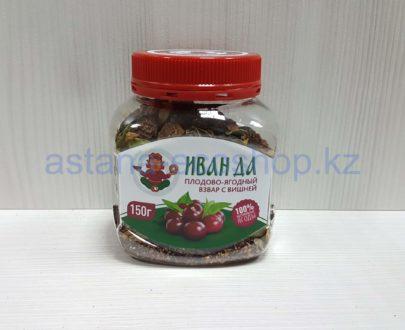 Плодово-ягодный взвар (чай из сушеных ягод) с вишней — 150 г