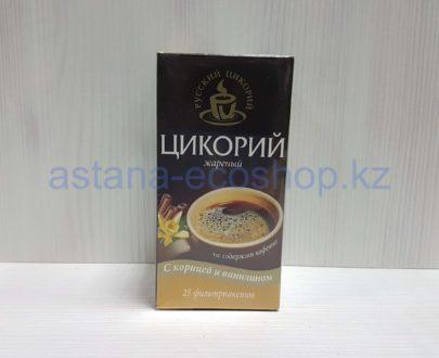 Цикорий жареный с корицей и ванилином — 50 г (25 пакетиков)