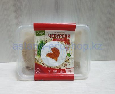 Замороженные чебуреки с джусаем, ручная лепка (веган) — 330 г