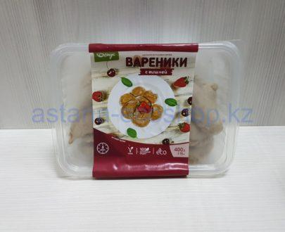 Замороженные вареники с вишней, ручная лепка (веган) — 400 г