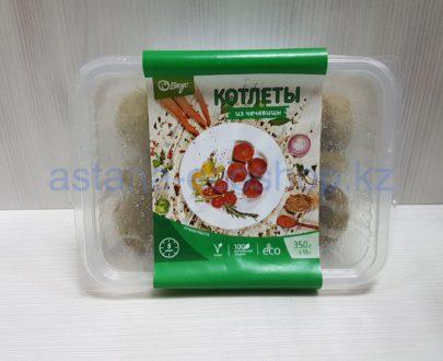 Замороженные котлеты из чечевицы, ручная лепка (веган) — 350 г