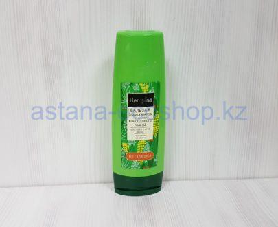 Бальзам-ополаскиватель на основе конопляного масла, укрепление и питание (для всех типов волос) — 250 мл