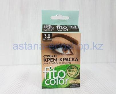 Стойкая крем-краска для бровей и ресниц (цвет '3.0 коричневый') — 4 мл (1-2 применения)