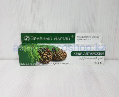Зубная паста 'Кедр алтайский' (эффективный уход) — 75 г